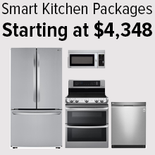 Smart Kitchen Packages Starting at $4,348