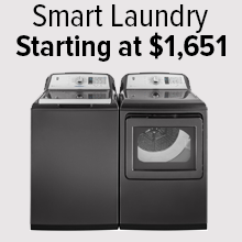 Smart Laundry Starting at $1,651