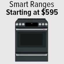 Smart Ranges starting at $595