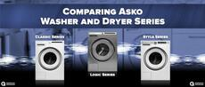 Comparing Asko Washer and Dryer Series ? Classic, Logic, and Style