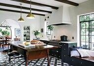 Bringing The Outside Into The Kitchen With Desert Chic & Spanish Influences