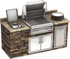 Alfresco Outdoor Kitchen and Entertaining Value Package