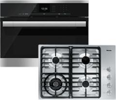 Miele Cooktop and Wall Oven Bundle