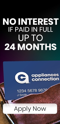 Appliances Connection Credit Card - Special Financing Up to 24 Months - Apply Now