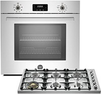 Bertazzoni Cooktop and Wall Oven Bundle