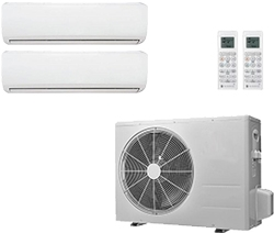 2 Zones Mini Split Air Conditioner
