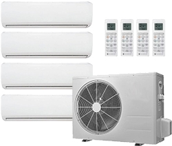 4 Zones Mini Split Air Conditioner