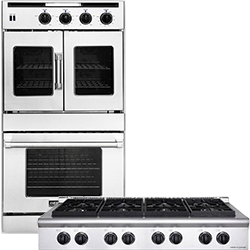 American Range Wall Oven and Cooktop