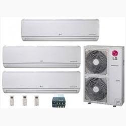 3 Zones Mini Split Air Conditioner