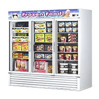 Commercial Display Freezers