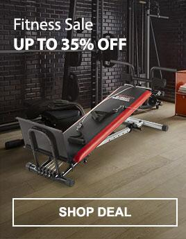 Fitness Sale - Up to 35% Off