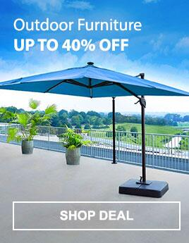 Outdoor Furniture - Up to 40% Off