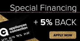 get 5% back on an appliances connection gift card - apply now