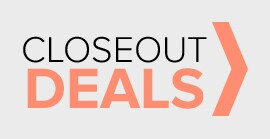 closeout deals - save now