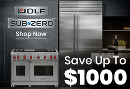 Sub Zero - Wolf - Save Up To $1000