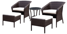 Patio Sofa Set A