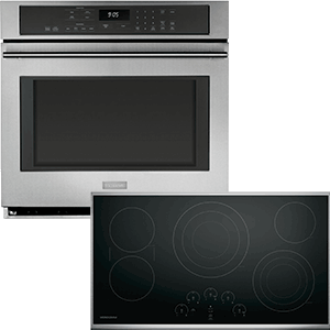 GE Monogram Wall Oven and Cooktop
