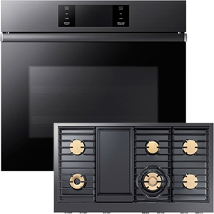 Dacor Built-In Wall Oven and Cooktop
