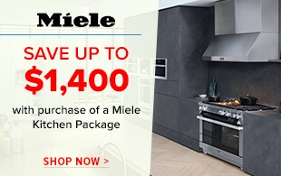 Save up to $1,400 on select Kitchen Packages