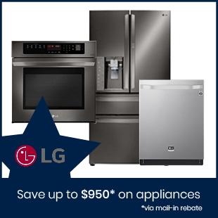 Shop LG Kitchen Appliances