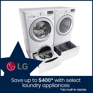 Shop LG Laundry Appliances