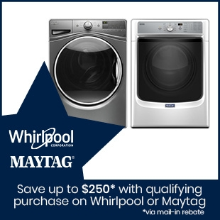 Shop Whirlpool and Maytag Laundry Appliances