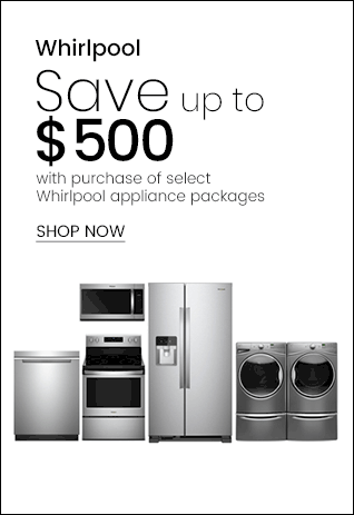 Whirlpool Save Up to $500