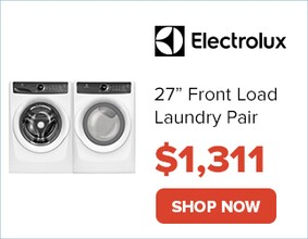 "Electrolux 27"" Laundry Pair for $1311. Shop Now."