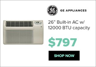 GE AJCQ12ACG air conditioner for $797