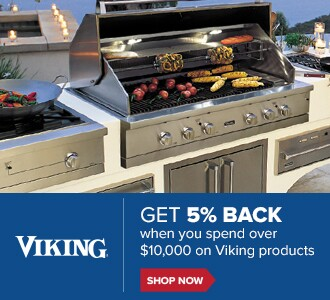 Get 5% Back when you spend $10,000 on Viking products. Shop Now.