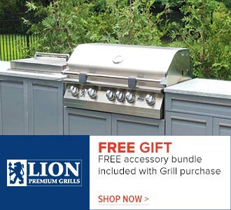 Lion - free accessory bundle included with a grill purchase