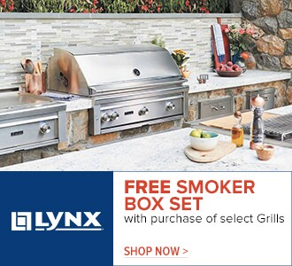 Lynx - free smoker set with purchase of select grills