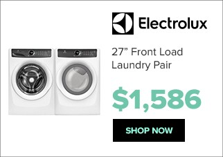 Electrolux laundry pair for $1,586