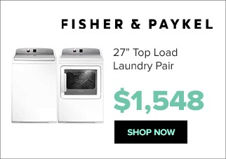 Fisher Paykel laundry pair for $1,548