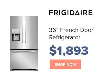 Frigidaire 36 inch French Door Refrigerator for $1,893