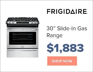 Frigidaire 30 inch Slide In Gas Range for $1,883