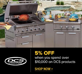 5% Off when you spend over $10,000 on DCS products. Shop Now.