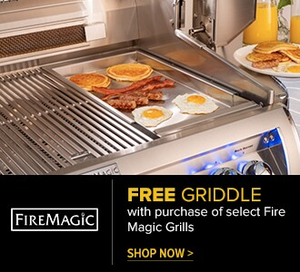 Free Griddle with purchase of select Fire Magic Grills. Shop Now.
