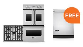 Free Viking Dishwasher with Cooktop and Oven Combo Purchase