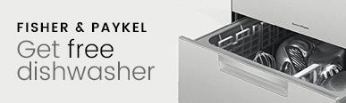 Fisher and Paykel Get Free Dishwasher