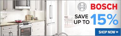 Bosch Save Up to 15% On Select Kitchen Packages