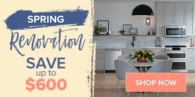 Spring Renovation Sale
