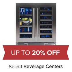 Up to 20% Off Select Beverage Centers.