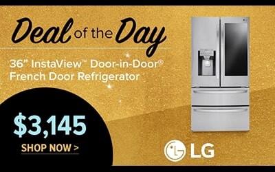 LG InstaView Refrigerator $3145
