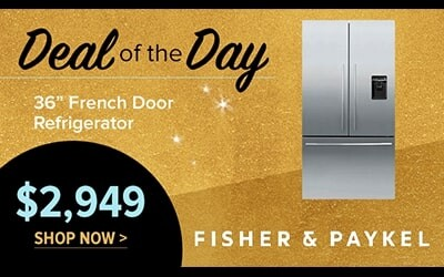Fisher & Paykel French Door Refrigerator $2949