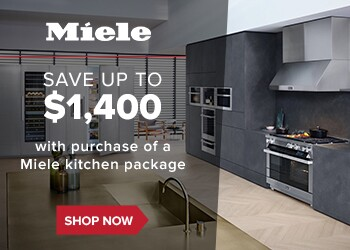 Save up to $1,400 with purchase of Miele kitchen package