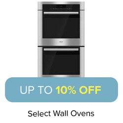 Up to 10% Off Select Wall Ovens.
