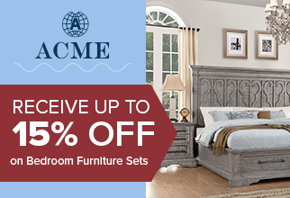 Recieve up to 15% on Acme Bedroom Furniture sets