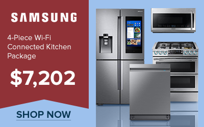 Samsung 4-Piece Wi-fi Connected Kitchen Package