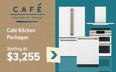 Cafe Kitchen Packages starting at $3,255